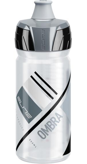 Elite Ombra Trinkflasche 550ml transparent/grau